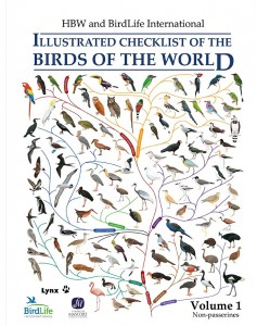 International Illustrated Checklist of the Birds of the Worlds omslag.