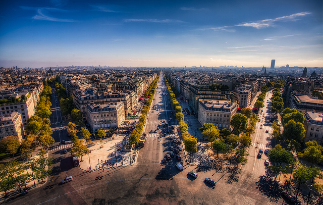 Paris. Foto: Justin Brown via Flickr https://www.flickr.com/photos/justininsd/