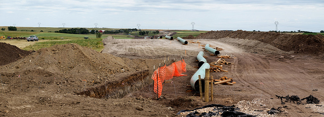Oljeledningen Dakota Access Pipeline. Foto: Lars Plougmann via Flickr https://www.flickr.com/photos/criminalintent/