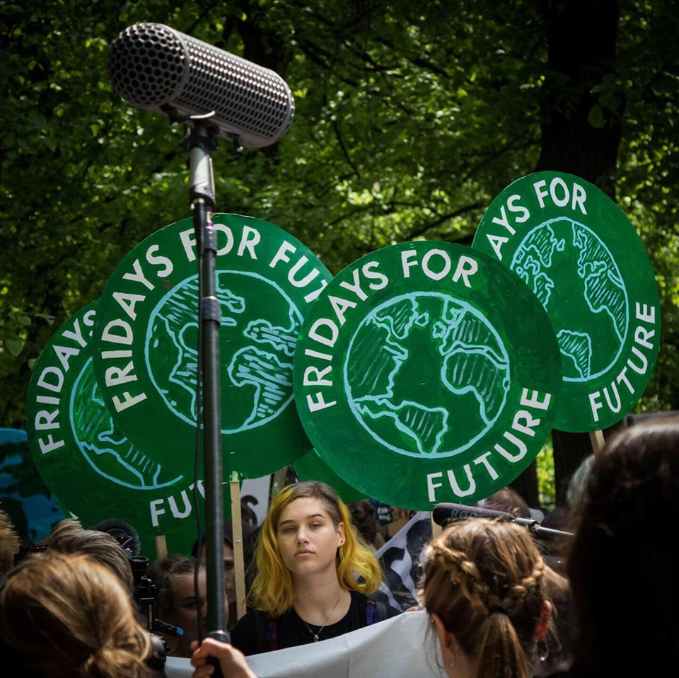 Klimatstrejk med Fridays For Future